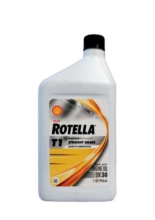 Моторное масло SHELL Rotella T1 30 (0,946л)