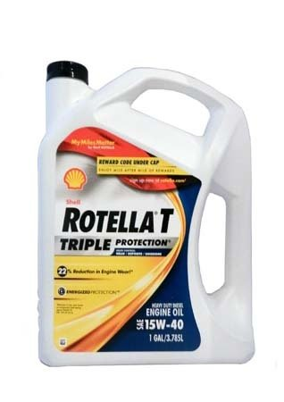 Моторное масло SHELL Rotella T Triple Protection SAE 15W-40 (3,785л)