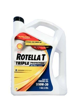 Моторное масло SHELL Rotella T Triple Protection SAE 10W-30 (3,785л)