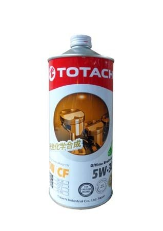 Моторное масло TOTACHI Ultima EcoDrive F Fully Synthetic SN/CF SAE 5W-30 (1л)