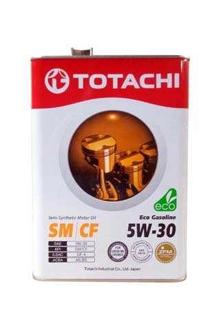 Моторное масло TOTACHI Eco Gasoline Semi-Synthetic SM/CF SAE 5W-30 (4л)