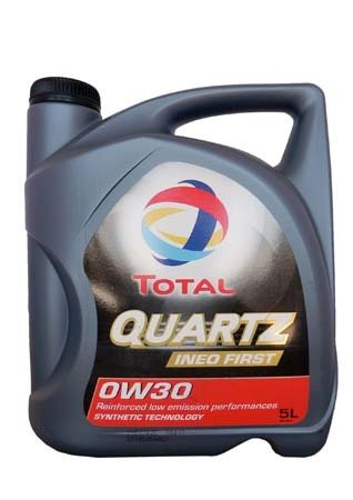 Моторное масло TOTAL Quartz Ineo First, 0W-30, 5л, 183106