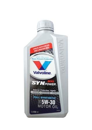 Моторное масло VALVOLINE Synpower MXL SAE 5W-30 (1л)