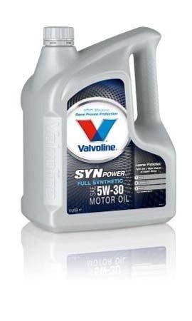 Моторное масло VALVOLINE Synpower SAE 5W-30 (4л)