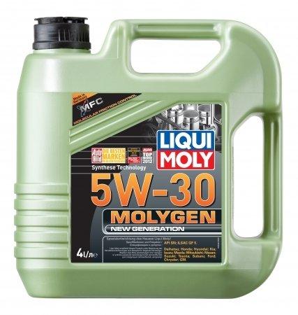 LiquiMoly 5W30 Molygen New Generation (4L) масло моторное !синт.\ API SN, ILSAC GF-5 LIQUI MOLY 9042