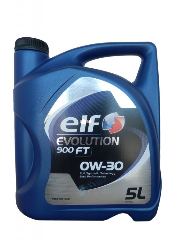 Моторное масло ELF Evolution 900 FT, 0W-30, 5л, 195412