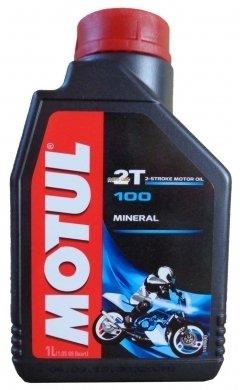 Моторное масло MOTUL 100 MotoMix 2T, 1л, 104024