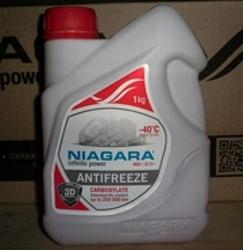 Антифриз NIAGARA, красный, 1л, готовый, 096903