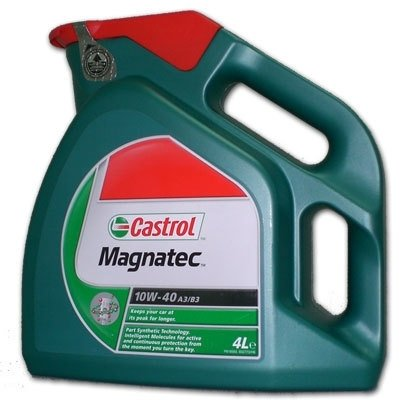 Моторное масло CASTROL Magnatec A3/B4, 10W-40, 4л, 4668410090