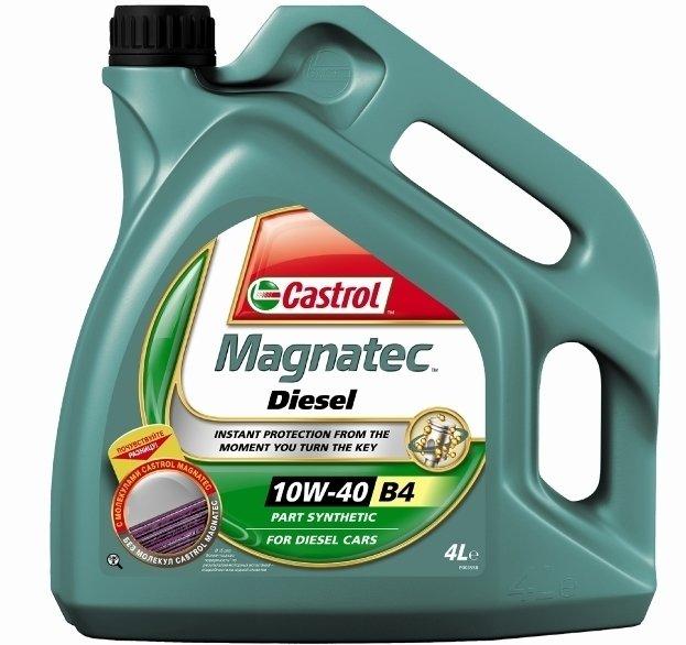 Моторное масло CASTROL Magnatec Diesel B4, 10W-40, 4л, 151B6B