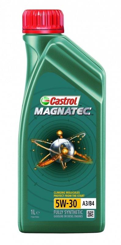 Моторное масло CASTROL Magnatec A3/B4, 5W-30, 1л, 4668200060