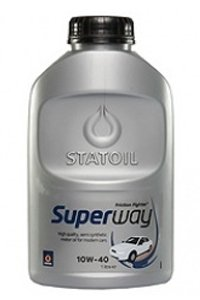 Моторное масло STATOIL SUPERWAY, 10W-40, 1л, 1001506