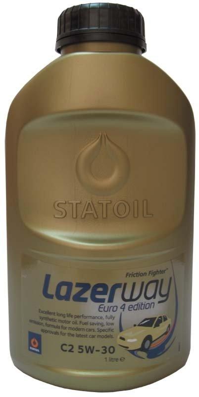 Моторное масло STATOIL LAZERWAY C2, 5W-30, 1л, 1000861