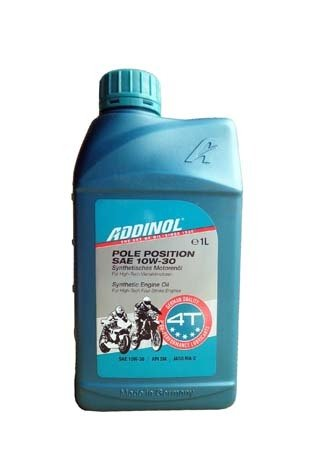 Моторное масло ADDINOL Pole Position SAE 10W-30 (1л)