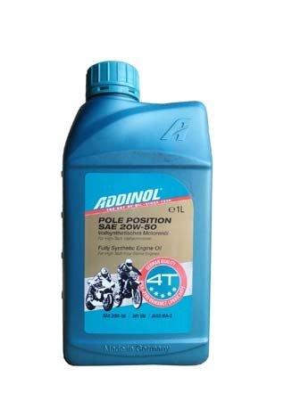 Моторное масло ADDINOL Pole Position SAE 20W-50 (1л)