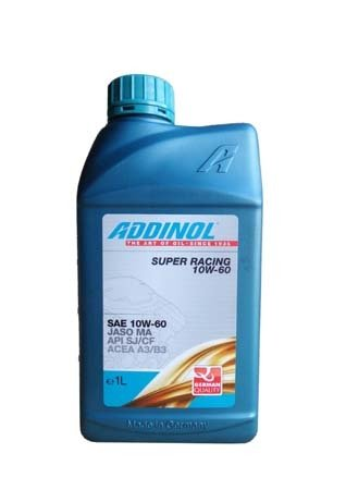 Моторное масло ADDINOL Super Racing SAE 10W-60 (1л)