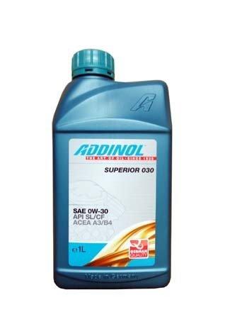 Моторное масло ADDINOL Superior 030 SAE 0W-30 (1л)