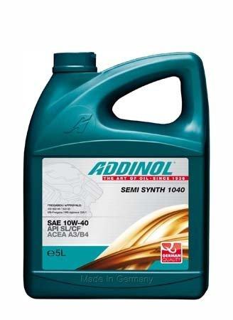 Моторное масло ADDINOL Semi Synth 1040 SAE 10W-40 (5л)