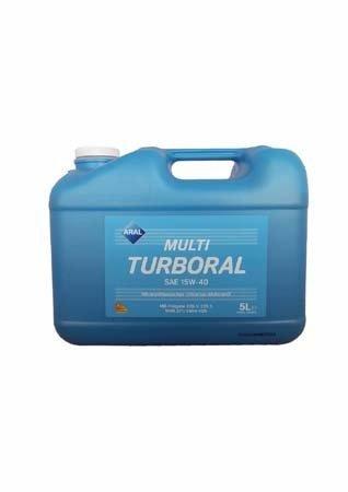 Моторное масло ARAL MultiTurboral SAE 15W-40 (5л)