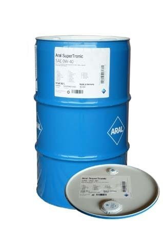 Моторное масло ARAL SuperTronic SAE 0W-40 (60л)