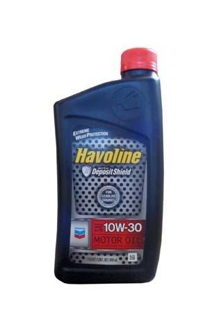 Моторное масло CHEVRON Havoline Motor Oil SAE 10W-30 (0,946л)