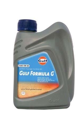 Моторное масло GULF Formula G SAE 5W-30 (1л)