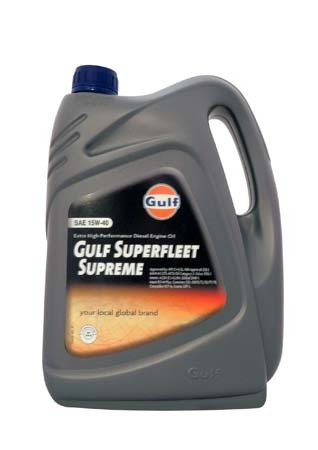 Моторное масло GULF Superfleet Supreme SAE 15W-40 (4л)