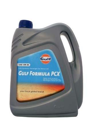 Моторное масло GULF Formula PCX SAE 5W-30 (4л)