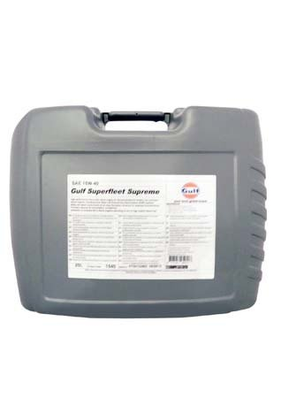 Моторное масло GULF Superfleet Supreme SAE 15W-40 (20л)