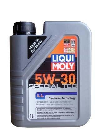 НС-синтетическое моторное масло LIQUI MOLY Special Tec LL 5W-30 (1л.)