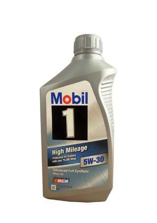 Моторное масло MOBIL 1 High Mileage SAE 5W-30 (0,946л)