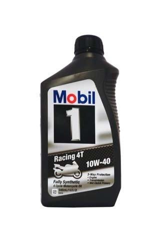 Моторное масло для 4-Такт MOBIL 1 Racing 4T SAE 10W-40 (0,946л)