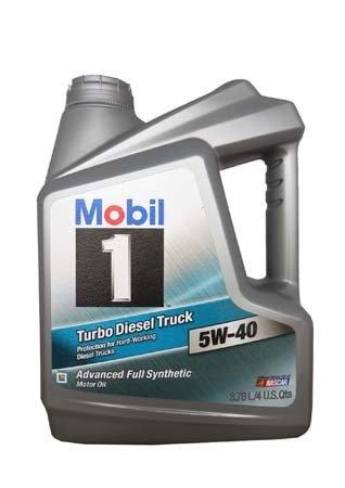 Моторное масло MOBIL 1 Turbo Diesel Truck SAE 5W-40 (3,78л)