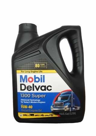 Моторное масло MOBIL Delvac 1300 Super SAE 15W-40 (3,785л)
