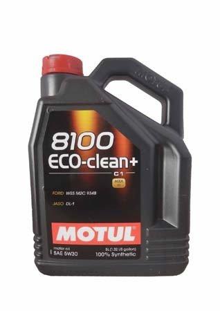 Моторное масло MOTUL 8100 Eco-clean+, 5W-30, 5 л, 101584