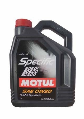 Моторное масло MOTUL Specific VW 506.01-506.00-503.00, 0W-30, 5л, 101171