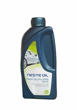 Моторное масло NESTE City Pro A5;B5 SAE 0W-30 (1л)