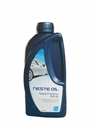 Моторное масло NESTE Premium SAE 10W-40 (1л)