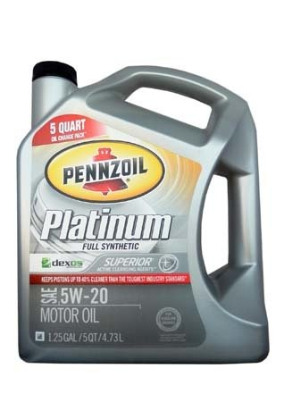 Моторное масло PENNZOIL Platinum SAE 5W-20 (4,73л)