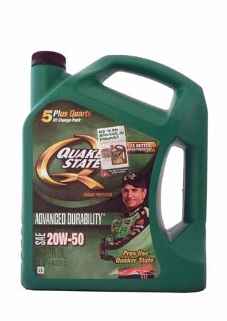 Моторное масло QUAKER STATE Advanced Durability SAE 20W-50 (4,826л)