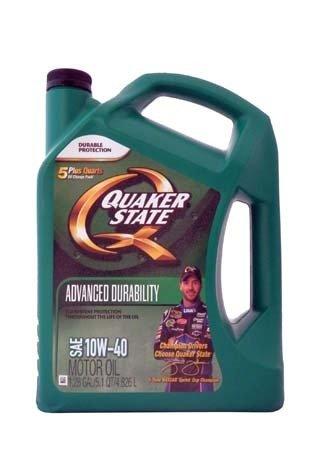 Моторное масло QUAKER STATE Advanced Durability SAE 10W-40 (4,826л)