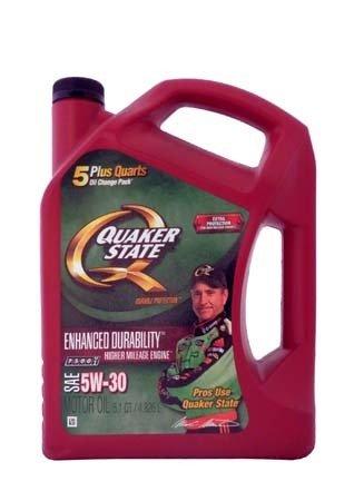 Моторное масло QUAKER STATE Enhanced Durability SAE 5W-30 (4,826л)