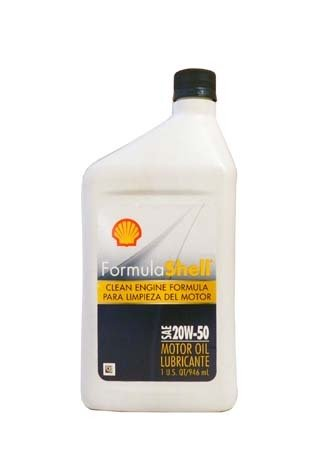 Моторное масло SHELL Formula Shell SAE 20W-50 (0,946л)
