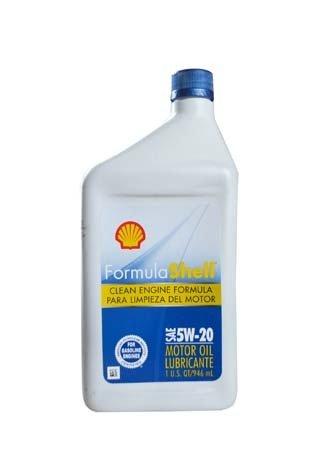 Моторное масло SHELL Formula Shell SAE 5W-20 (0,946л)