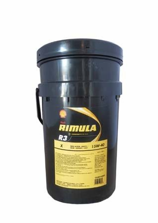 Моторное масло SHELL Rimula R3 X SAE 15W-40 (20л)