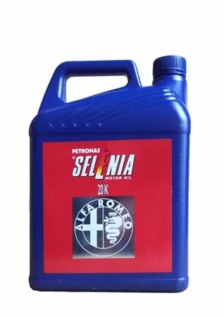 Моторное масло SELENIA 20 K Alfa Romeo SAE 10W-40 (5л)