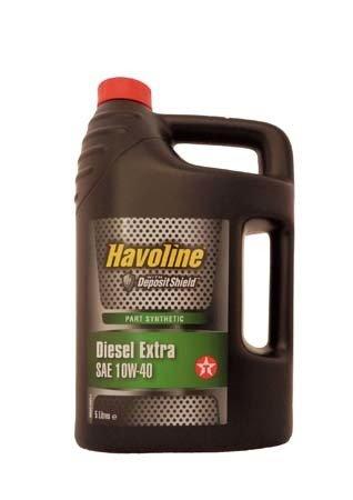 Моторное масло TEXACO Havoline Diesel Extra SAE 10W-40 (5л)