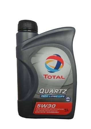 Моторное масло TOTAL QUARTZ INEO LONG LIFE, 5W-30, 1л, 181711