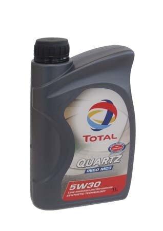 Моторное масло TOTAL QUARTZ INEO MC3, 5W-30, 1л, 166254