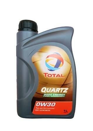 Моторное масло TOTAL QUARTZ 9000 ENERGY, 0W-30, 1л, 166249